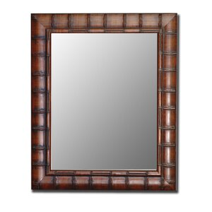 Rectangle Bamboo Wall Mirror