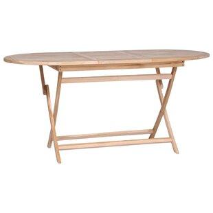 Caballero Folding Teak Dining Table Image