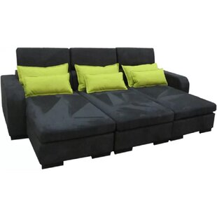 Campton 3 Seater Fold Out Sofa Bed By Mercury Row