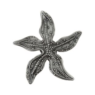 Beaded Starfish Novelty Knob