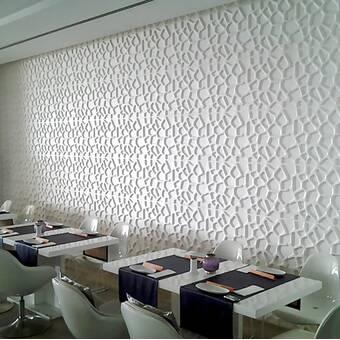 Orren Ellis Saugus 25 X 32 Reclaimed Peel And Stick Bamboo Wall Paneling In White Reviews Wayfair