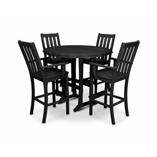 Vineyard 5 Piece Bar Height Dining Set
