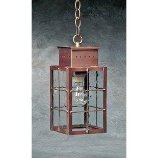 Wildes 1-Light Outdoor Hanging Lantern by Breakwater Bay
