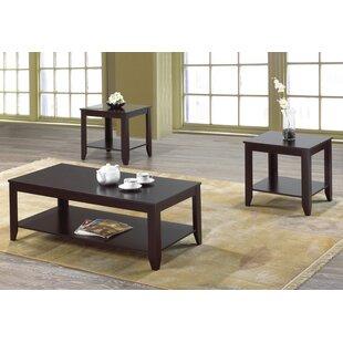 Gustav 3 Piece Coffee Table Set