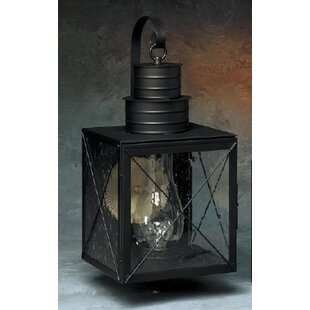Find 200 Series 1-Light Outdoor Wall Lantern By Brass Traditions