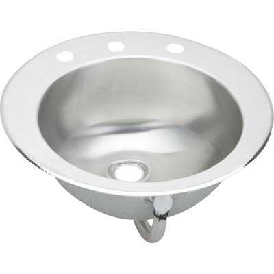 Asana Circular Drop In Bathroom Sink Elkay Sink Finish 2 Hole