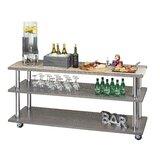 Ashwood U-Build 4ft Bar Cart by Cal-Mil