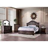 Erika Queen Solid Wood 5 Piece Bedroom Set by Rosalind Wheeler