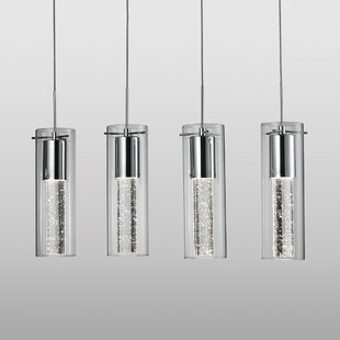 Orren Ellis Epstein Bubbles 4-Light Kitchen Island Pendant