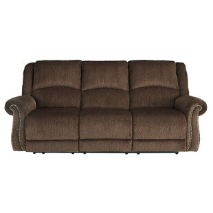 Shop Mcdowell Reclining Sofa by Red Barrel Studio