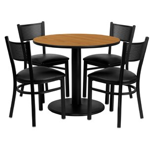 Lomonaco 5 Piece Dining Set