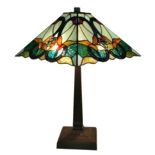 Check Prices Tiffany Floral Mission 23 Table Lamp By Amora Lighting