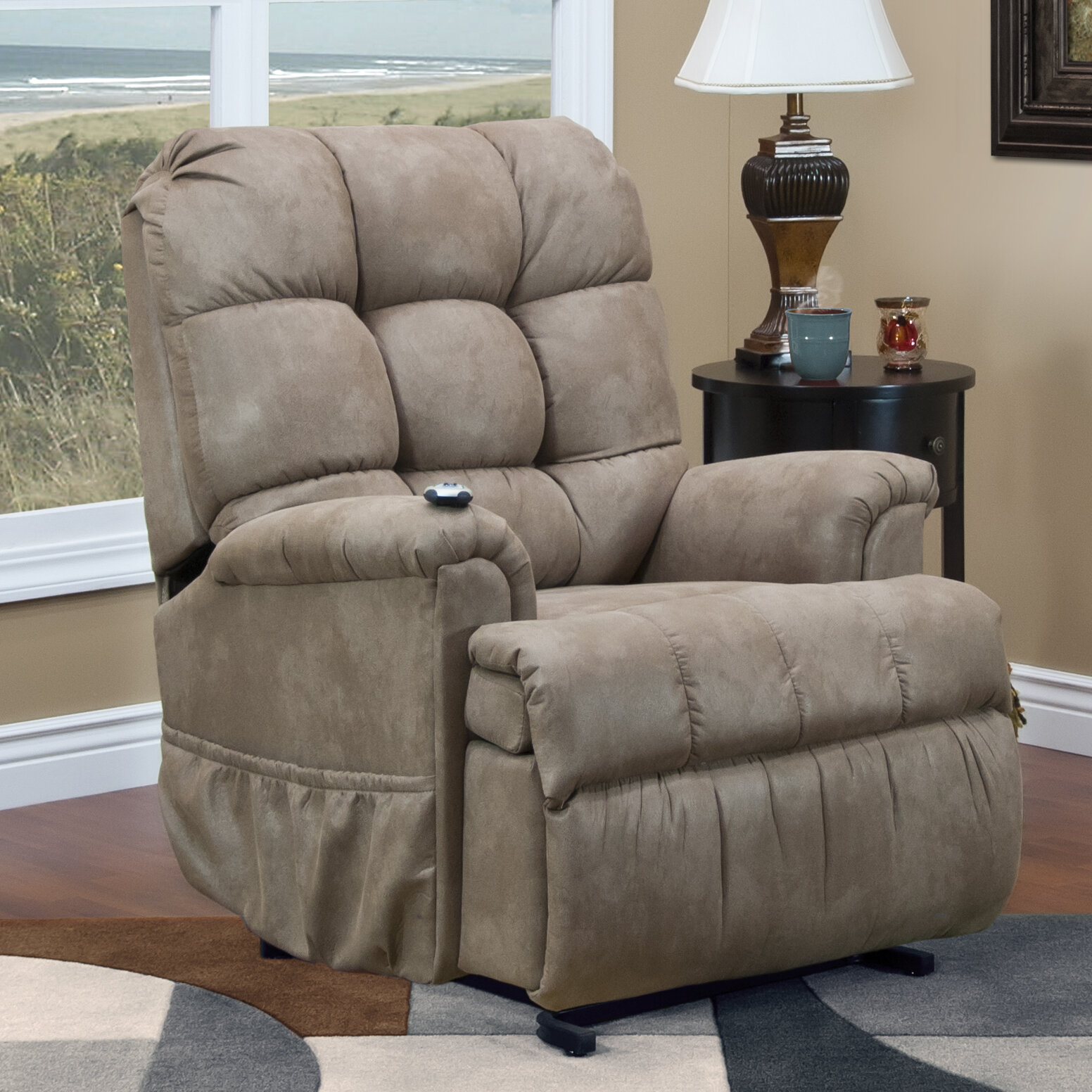 home item best w furnishings height recliners trim rock power pwr threshold with tilt width recliner petite sedgefield headrest rocker products