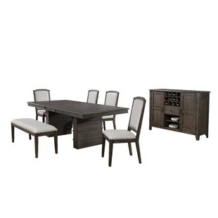Seaver 7 Piece Extendable Dining Set Gracie Oaks