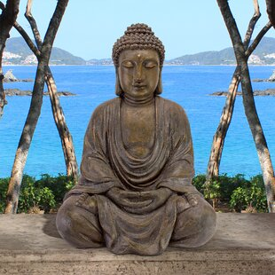 Buddhas Statues Sculptures Free Shipping Over 35 Wayfair