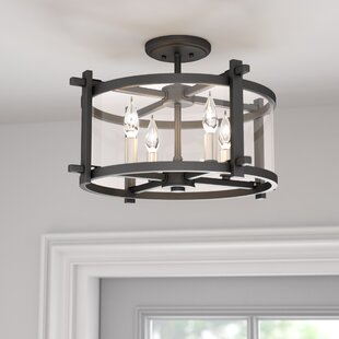 Yucca Valley 4-Light Semi Flush Mount by Trent Austin Design