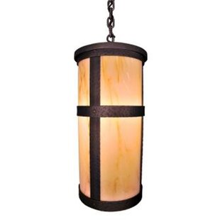 Best Price Portland 1-Light Outdoor Pendant By Steel Partners