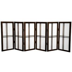 World Menagerie Marla 6 Panel Room Divider