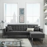Wynot 99.21 Reversible Sleeper Sectional by Latitude Run®