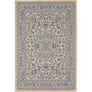 Theo Beige Indoor/Outdoor Area Rug