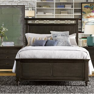 Darby Home Co Gatefield Wood Panel Bed