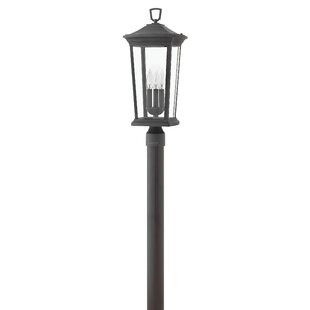 Bromley Outdoor 3-Light Lamp P..