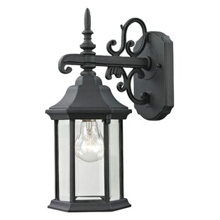 Deals Altagore 1-Light Outdoor Wall Lantern By Charlton Home