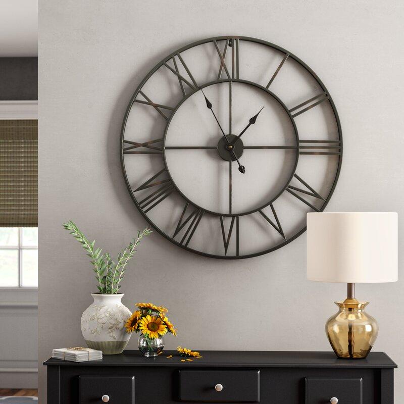 Joss Main Elborough Wall Clock Reviews Wayfair Ca