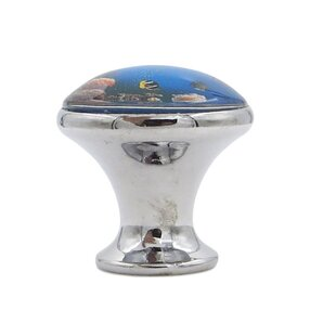 Fish in Ocean Mushroom Knob by Shabby Restore