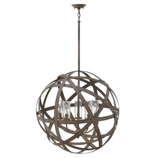 Allyssa 5 Light Outdoor Hanging Pendant Image