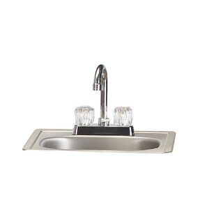 Drop-In Stainless Steel Sink With Faucet By Bull Outdoor Products