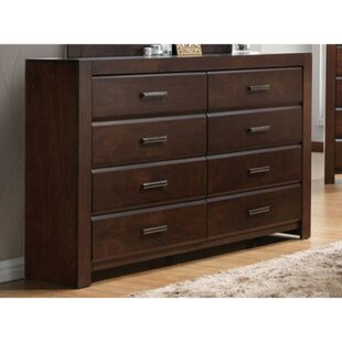 Ontario Wooden 8 Drawer Double Dresser