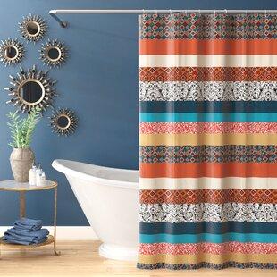 Online Reviews Bridgelands Shower Curtain ByWorld Menagerie