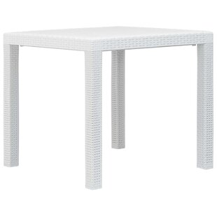 Baar Plastic Dining Table By Sol 72 Outdoor