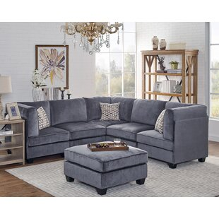 Ivy Bronx Dorene Modular Sectional with O..