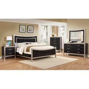House of Hampton Metoyer Panel Configurable Bedroom Set