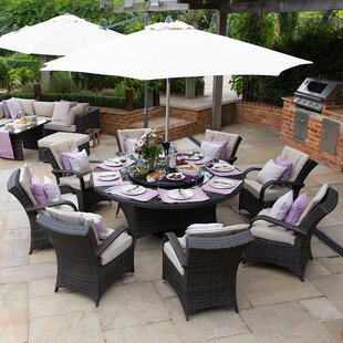 Marasco 8 Seater Dining Set With Cushions By Sol 72 Outdoor