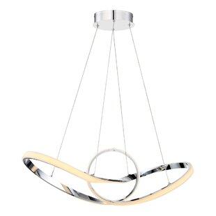Orren Ellis Cissna 1-Light LED Pendant
