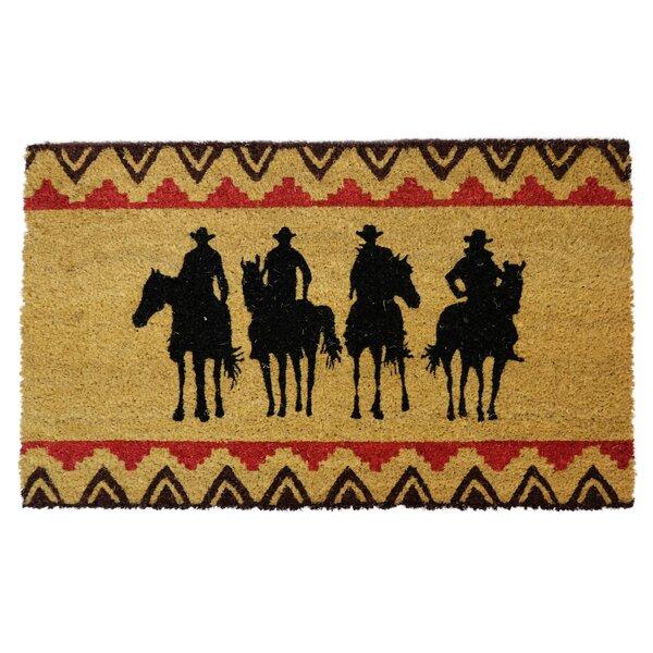 Forward Door Mat LL Home Coir Horses