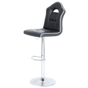Summit Sports Car Height Adjustable Swivel Bar Stool By George Oliver