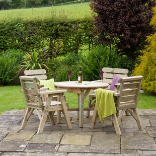 Hampden 4 Seater Dining Set By Sol 72 Outdoor