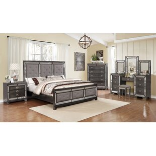 Almus Panel Configurable Bedroom Set by Everly Quinn