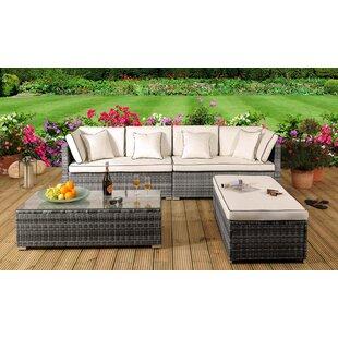 Marianna 8 Seater Rattan Corner Sofa Set With Cover Image