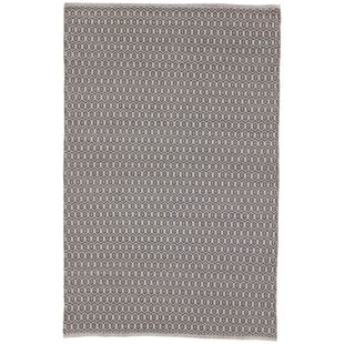Roberto Trellis Gray Indoor/Outdoor Area Rug By George Oliver