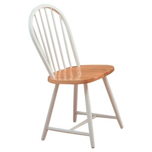 August Grove Ilka Solid Wood Dining Chair (Set of 4)