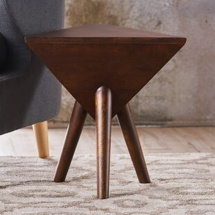 Johnston Wood End Table by George Oliver