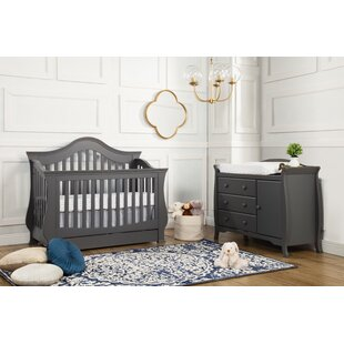 Reviews Ashbury 4-in-1 Convertible 2 Piece Crib Set By DaVinci
