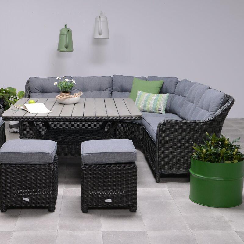 Milwaukee Lounge Dining Sectional With Cushions
