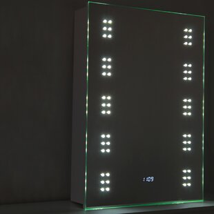 Mcsherry 50cm X 70cm Surface Mount Mirror Cabinet With LED Lighting By Brayden Studio