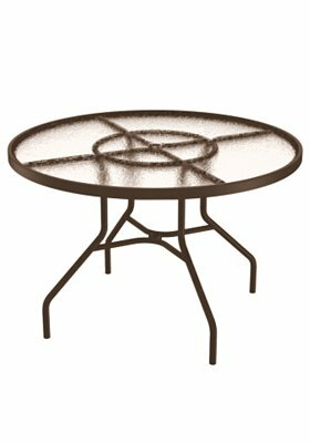 Site Furnishings Round 27 Inch Table by Tropitone 2020 Coupon